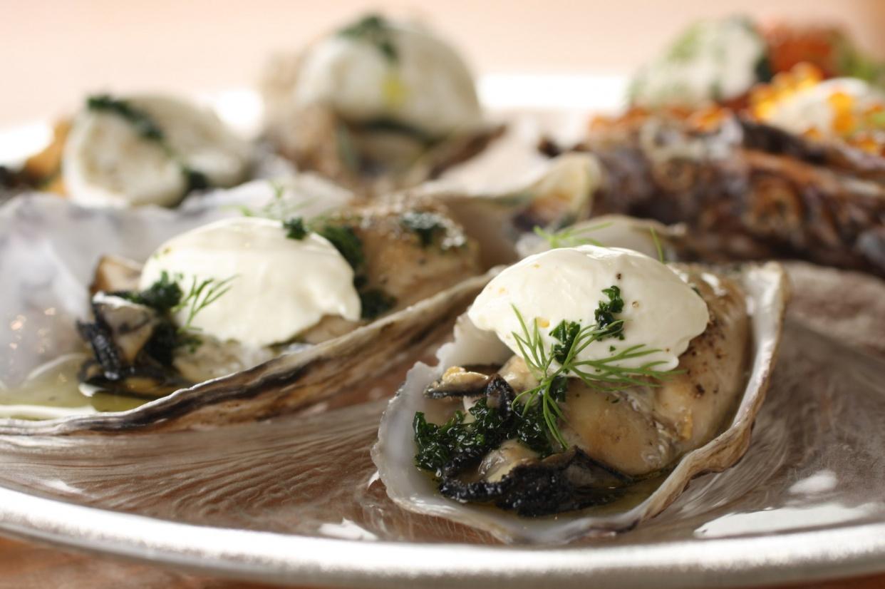牡蠣の燻製の話