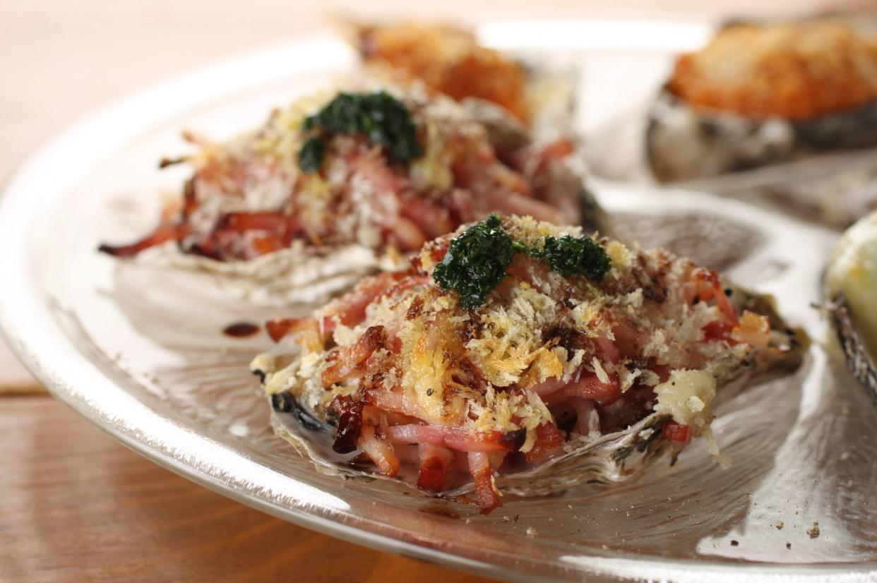 オーストラリアの焼き牡蠣の話