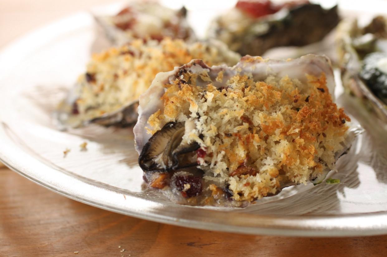 牡蠣の香草パン粉焼きの話
