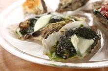 ジェノヴァ風焼き牡蠣