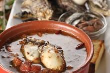 牡蠣のガーリックオイル煮(オイスターアヒージョ)