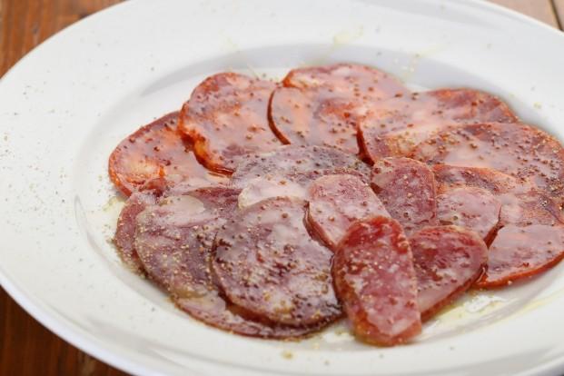 スペイン産イベリコ豚のドライソーセージ盛り合わせ