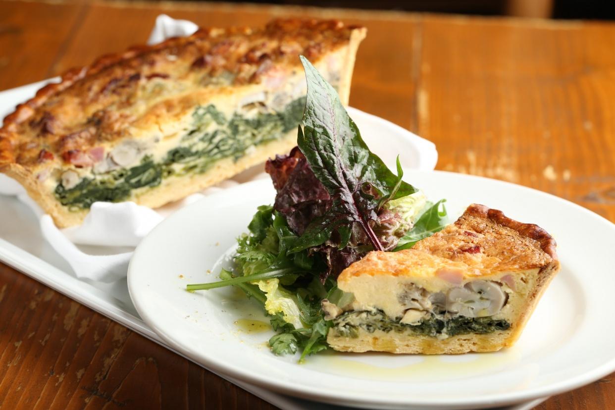 牡蠣と季節野菜のキッシュの話
