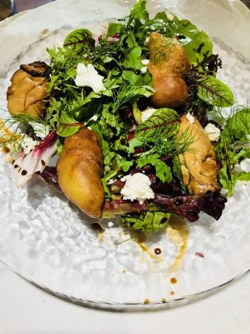 牡蠣と内臓肉の話