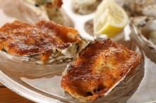 雲丹クリーム焼き牡蠣