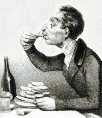 牡蠣とアルコールの話