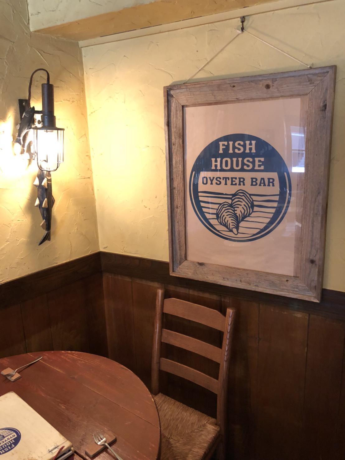 FISHHOUSE東口店の話