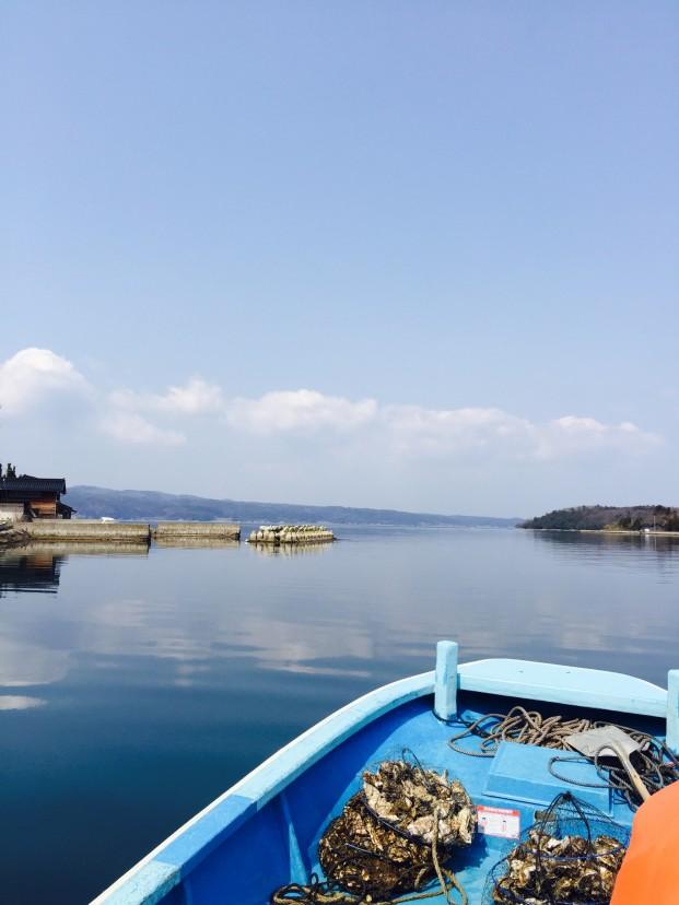 能登半島の牡蠣の話