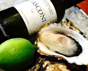 11月 牡蠣とワインのマリアージュ