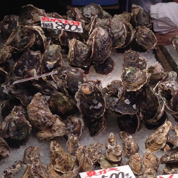 岩牡蠣のシーズン開始の話