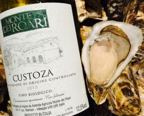8月の牡蠣とワインのマリアージュ(ハッピーアワーのおしらせ)